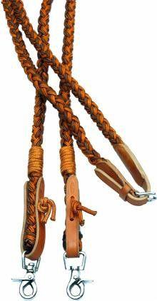 Barefoot Amber Seil-Zügel – geschlossen - Abnehmbare Snaps
