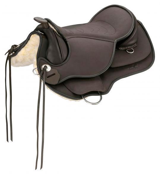 Barefoot Arizona - Westernsattel im Roundskirt-Schnitt - Ideal für kurze Pferde