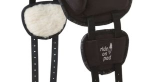 Barefoot Gurtpolster für Ride-On-Pad - Gurtpolster in schwarz und braun
