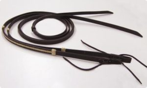 Barefoot Oaklet Zügel - Rindsleder mit echter Rohhaut verziert