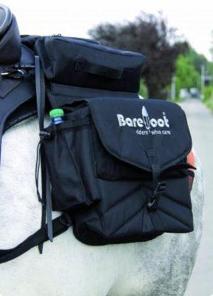 Barefoot Satteltaschen Trail  2-in-1 - Funktionale Nylon Satteltaschen