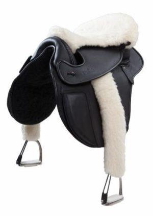 Barefoot Sitzauflage aus Schafwolle - Für alle Sättel