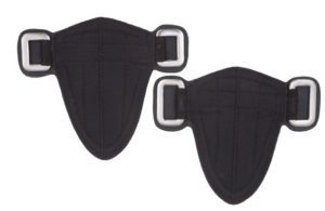 Barefoot Steigbügelaufhängung Klett mit Lederabdeckung - Frei positionierbare Steigbügelaufhängung