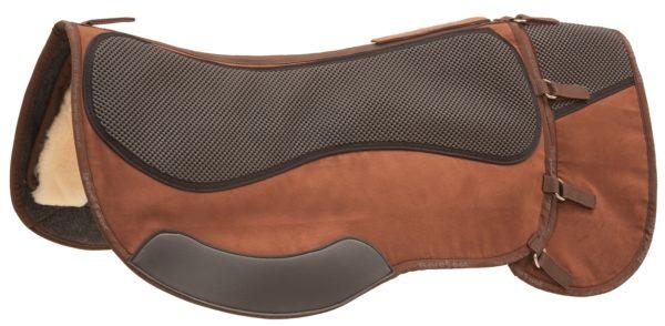 Barefoot Wanderreitpad Physio - braun - Alle Sättel mit kurzem Sattelblatt / Roundskirt