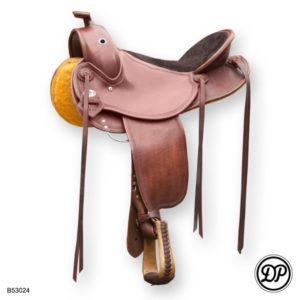 Deuber Flex Fit Vario 1805 Old Style - Flexibler Westernsattel für kurzrückige Pferde