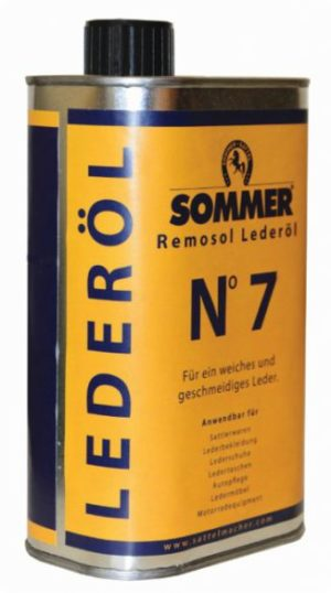 Sommer Remosol Lederöl N°7 - Hochwertiges Lederöl